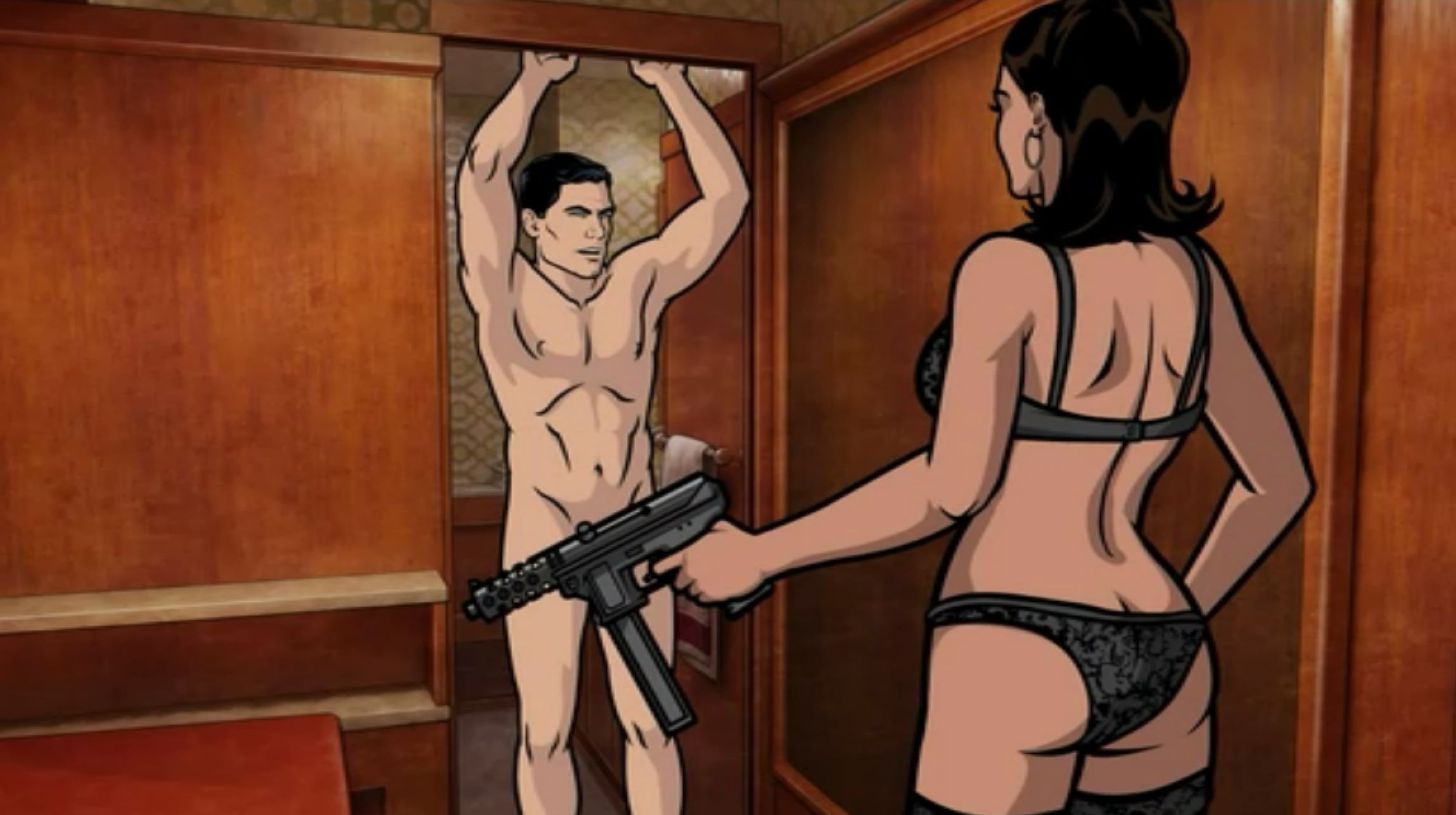 Archer having sex with pam porn hentia scene